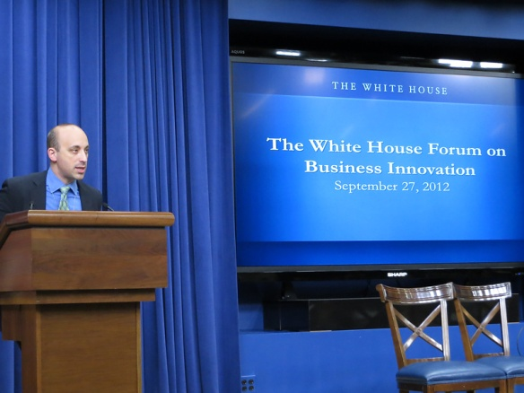 Jonathan Greenblatt at The White House Forum on Business Innovation