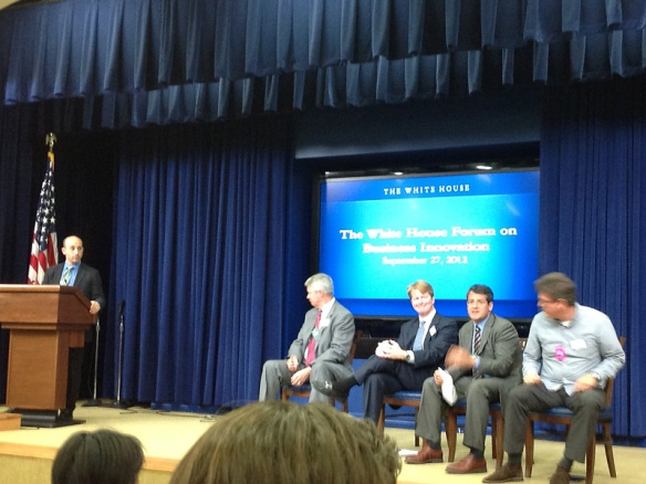 Panel 2 at The White House Forum on Business Innovation